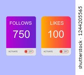 instagram buttons followers and ...