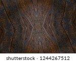 texture of brazilian rosewood ... | Shutterstock . vector #1244267512