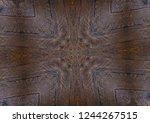 texture of brazilian rosewood ... | Shutterstock . vector #1244267515