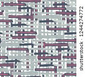 vector seamless pattern. torn... | Shutterstock .eps vector #1244274772