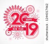 vector illustration of ... | Shutterstock .eps vector #1244317462