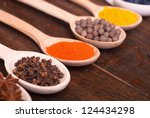 spices | Shutterstock . vector #124434298