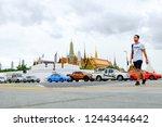 bangkok  thailand   august 17 ... | Shutterstock . vector #1244344642