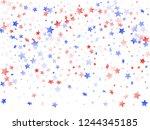 american patriot day stars... | Shutterstock .eps vector #1244345185