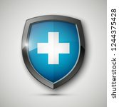 medical health protection... | Shutterstock . vector #1244375428