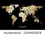 global network mesh. social...   Shutterstock .eps vector #1244402878