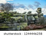 The Rock Formations At Brimham...