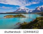 the national park torres del... | Shutterstock . vector #124446412