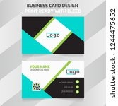 simple designed business card...