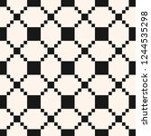 square grid seamless pattern....   Shutterstock .eps vector #1244535298