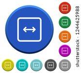adjust object width round color ... | Shutterstock .eps vector #1244625988