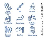 Medical Healthcare Icons  ...