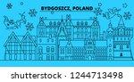 Poland  Bydgoszcz Winter...