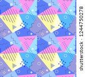 vector seamless pattern in...   Shutterstock .eps vector #1244750278