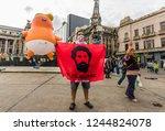 buenos aires  argentina  ... | Shutterstock . vector #1244824078