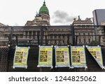 buenos aires  argentina  ... | Shutterstock . vector #1244825062