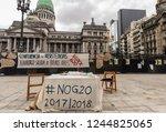 buenos aires  argentina  ... | Shutterstock . vector #1244825065