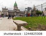 buenos aires  argentina  ... | Shutterstock . vector #1244825308