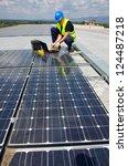 sun energy | Shutterstock . vector #124487218