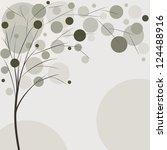 tree background  rasterized... | Shutterstock . vector #124488916