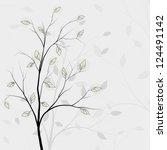 tree background  rasterized...   Shutterstock . vector #124491142
