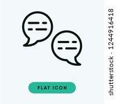 bubble vector icon