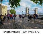 tower  london  uk   june 8 ...   Shutterstock . vector #1244987572