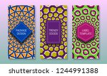 optical illusion packaging...   Shutterstock .eps vector #1244991388