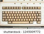some old and obsolete pc and... | Shutterstock . vector #1245009772