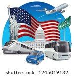 concept illustration of... | Shutterstock .eps vector #1245019132
