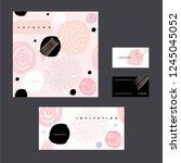 cover of catalog  invitation... | Shutterstock .eps vector #1245045052