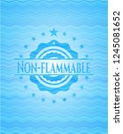 non flammable water wavec... | Shutterstock .eps vector #1245081652