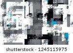 urban geometric camouflage... | Shutterstock .eps vector #1245115975