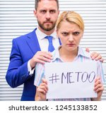 sexual harassment at work and... | Shutterstock . vector #1245133852