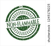 green non flammable distressed... | Shutterstock .eps vector #1245178225
