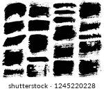 brush strokes. vector... | Shutterstock .eps vector #1245220228