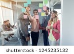 young professional creative... | Shutterstock . vector #1245235132