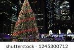 toronto canada   dec 11 2017 ...   Shutterstock . vector #1245300712