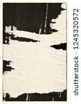 blank brown creased crumpled...   Shutterstock . vector #1245320572