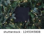 creative layout made of... | Shutterstock . vector #1245345808