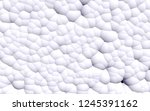 3d rendering picture of white... | Shutterstock . vector #1245391162