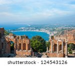 Ancient Greek Amphitheatre In...