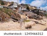 newport coast  california  ...   Shutterstock . vector #1245466312