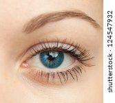 Eye Macro. Woman Eye. Macro...