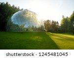 merkine  lithuania   august 12  ... | Shutterstock . vector #1245481045
