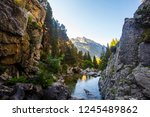 panorama of the pyrenees and... | Shutterstock . vector #1245489862