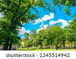 alexander garden and the spire... | Shutterstock . vector #1245514942