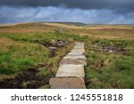 great shunner fell is the third ... | Shutterstock . vector #1245551818