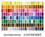 colour set palette vector... | Shutterstock .eps vector #1245583885