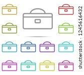 tool box icon in multi color....